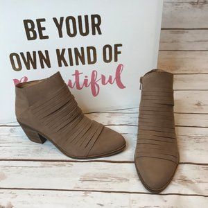 Lucky Brand Suede Zavrina Booties